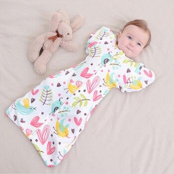 Saco de Dormir de algodón para bebé recién nacido, envolvente, sobre para...
