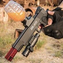Pistolet à balles d'eau électrique pour enfant, nouveau modèle Galaxy M1911, pour adulte, Masato Cs, jouet opposé