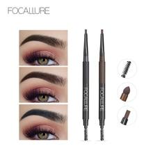 Focallure Eyebrow 3 in 1 Auto brows pen Long Lasting Waterproof Black Brown Eyebrow Pencil makeup