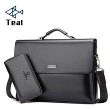ผู้ชายกระเป๋าเอกสารผู้ชายกระเป๋าไหล่แล็ปท็อปกระเป๋าPuหนังไหล่กระเป๋าเข็มขัดกระเป๋าMessenger