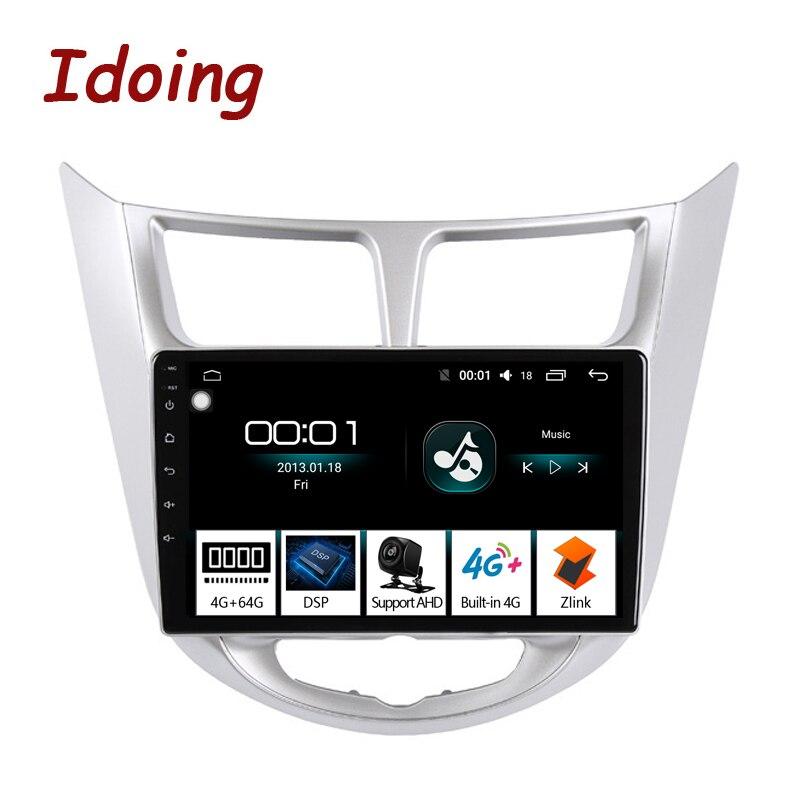 Idoing 10 2 Car Radio Multimedia Android Video Player Navigation GPS For Solaris 1 2 Hyundai