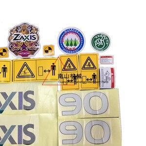 Image 3 - free shipping Hitachi Zax50/60/70/90/120/200/230/270/330/400 6 Car Sticker Excavator