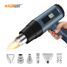 цена на 2000W Heat Gun LCD 220V Hot Air Soldering Station Hot Air Blower Heat Gun Plastic Welding Tools Pistola De Aire Caliente