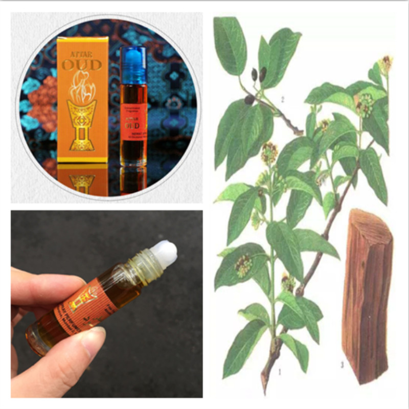 India Perfume Genuine Wood Sandalwood Oil Ball Perfume Essential Oil 8ml