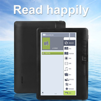 7 inch E book reader Electronic ink Screen Built in Front Light e Book Reader with global Multi language Support micro sd