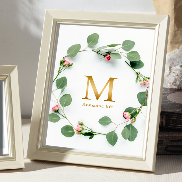 Beautiful Nordic Picture Frame Color: C Size: 7 inch