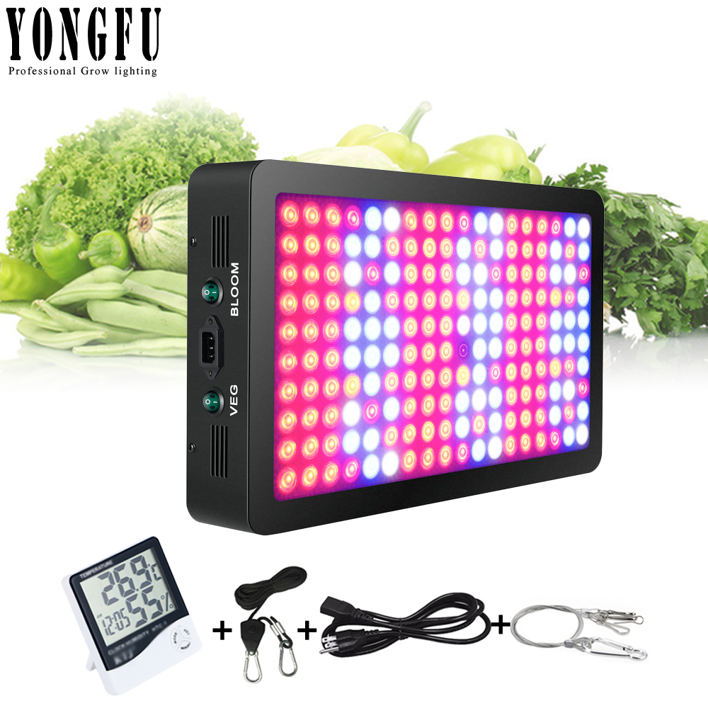 1800W LED Grow Light Optical Lens Series Full Spectrum for Indoor Plants Veg and Flower, Garden Greenhouse Hydroponic Grow lamp