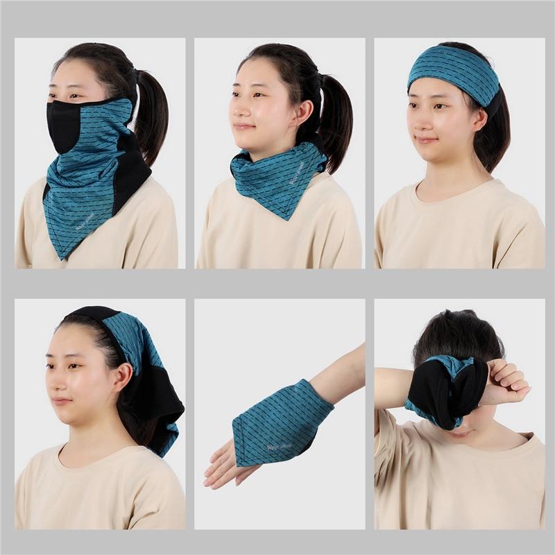 H8bb8bd02407b4cd68f06e206e00dcacej WEST BIKING Winter Cycling Mask Fleece Thermal Outdoor Sports Facemask Bandana Headband Anti-UV Running Training Ski Face Mask