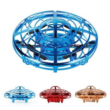 цены flynova fidget finger spinner Flying spinner returning gyro UFO Drone