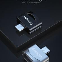 Адаптер Essager usb type C OTG для samsung S10 Xiaomi Mi 9 Oneplus 7 Pro 6t USBC разъем USB-C type-C к USB 3,0 OTG