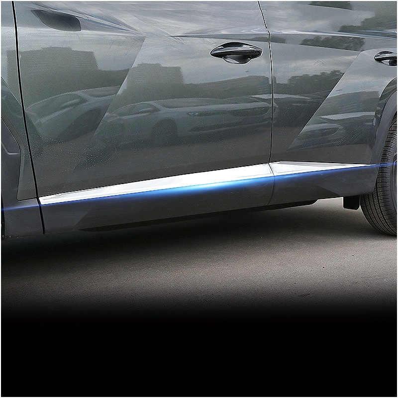 Боковая защитная накладка для корпуса двери из нержавеющей стали, декоративные ленты, украшение для автомобильного стайлинга для Hyundai Tucson otali.ru, аксессуары