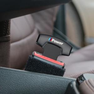 Image 3 - 1PCS חגורת בטיחות אבזמים אמיתי משאיות רכב בטיחות חגורת מעורר Canceler פקק עבור BMW ביצועים M3 M5 X1 X3 x5 X6 E46 E39