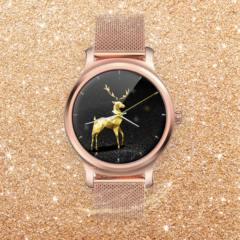 Beautiful Alloy Smart watch 2020 IPS full round screen bluetooth call IP67 health motion Pedometer smartwatches for women men