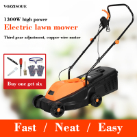High Quality Robot Lawn Mower 1300W Electric Hand push Lawnmower Electric Trimmer Gasoline Household Mower Garden Cutter Tools