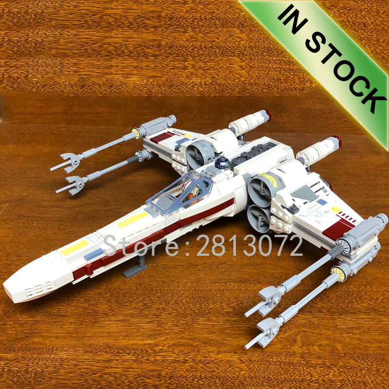 05039 In Stock Star Series Wars Red Five X-wing Starfighter Building Blocks 1559pcs Compatible 10240  81041