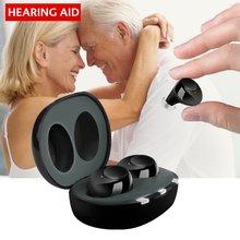 Невидимый мини слуховой аппарат ite с зарядкой от usb 1 пара