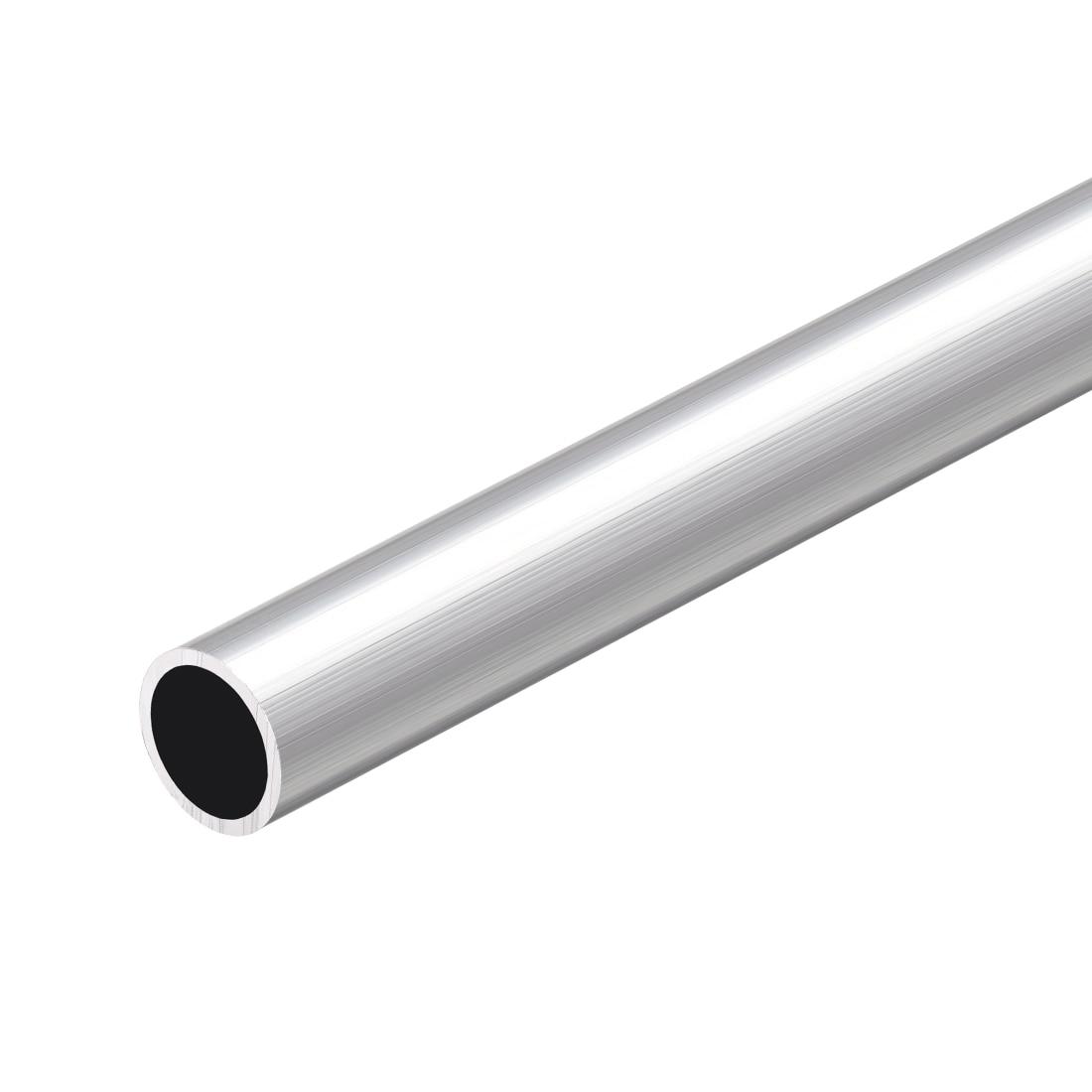 "ALUMINIUM ROUND STRAIGHT TUBE PIPE 1.5/"" 38mm OD x 300mm 1 FEET 2mm WALL THICK"