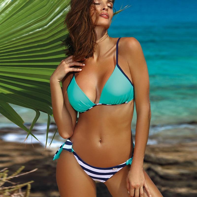 H8bb9c3ae7f8349c8b76dca03d13b365bN 2019 Sexy Bikini Set Three Piece Swimsuit Women Push Up Swimwear Brazilian Bathing Suit Beachwear Swimming Suit For Women Bikini