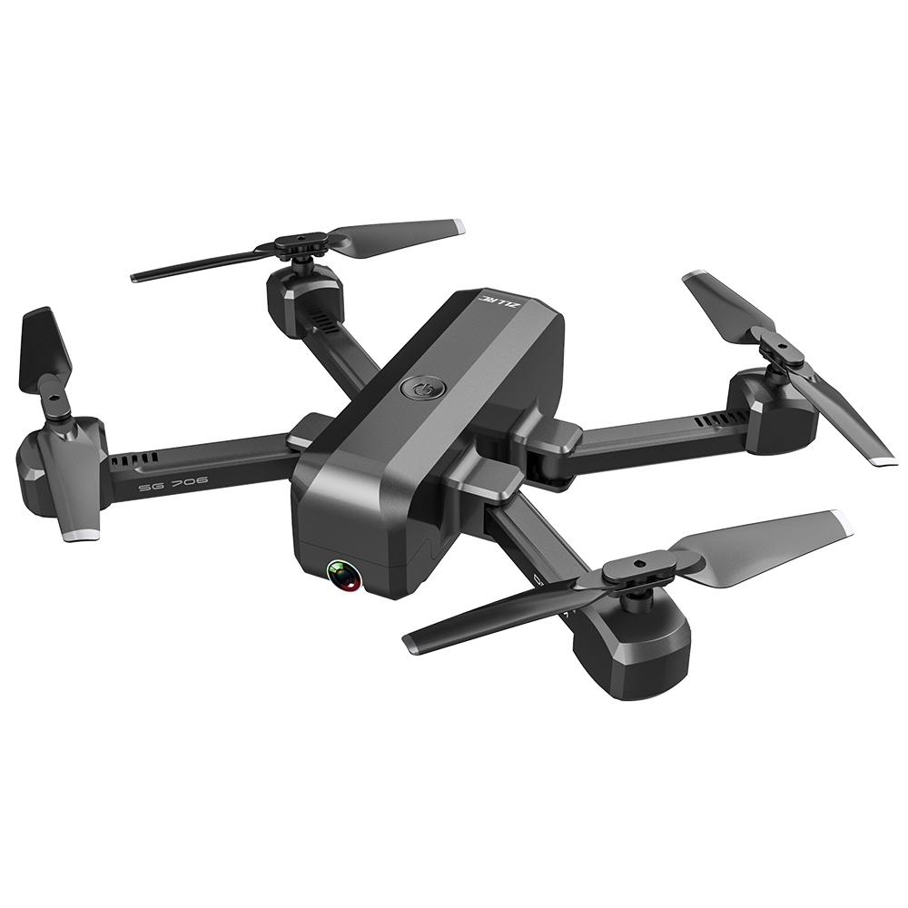 SG706 Drone 4K HD Dual Camera Foldable Quadcopter Helicopter SG706 VS KF607 XS809S XS816 GD89 12