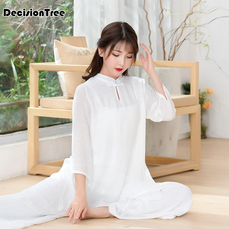 2020 Traditional Vietnam Chiffon Ao Dai Dress For Women Improved Cheongsam Ethnic Style Traditional Clothing Floral Aodai