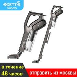 Deerma-aspiradora de mano DX700S DX700, 1L de capacidad, caja de polvo, filtro Triple de bajo ruido, colector de polvo Vertical, 2 en 1