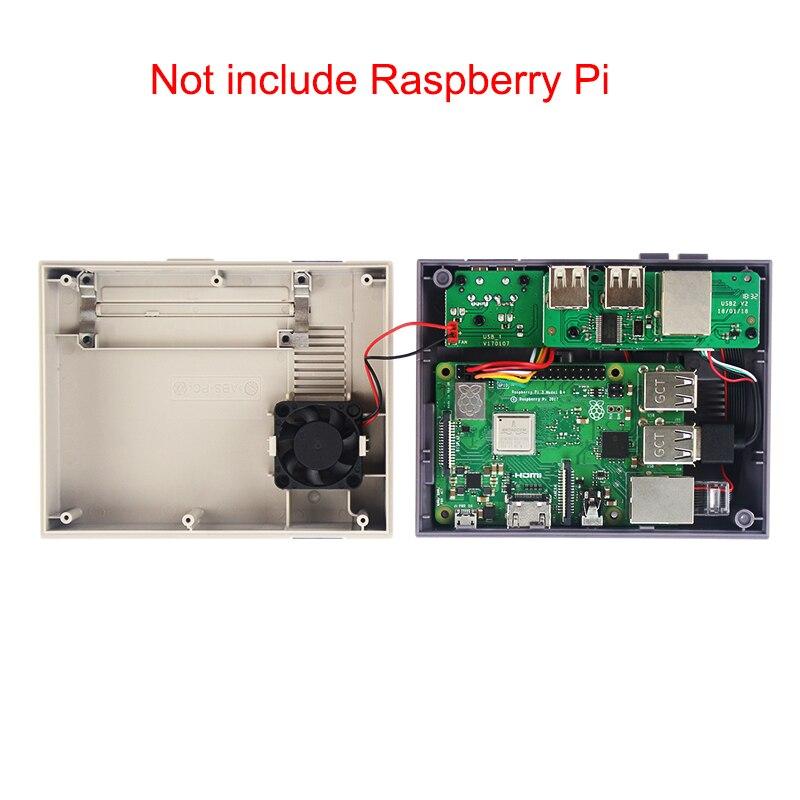 Image 5 - NESPi CASE+ Plus for Raspberry Pi 3 Model B+ Retroflag Case + 32GB SD Card + Power Adapter + Fan + HDMI Cable for Retropie GameDemo Board Accessories   -