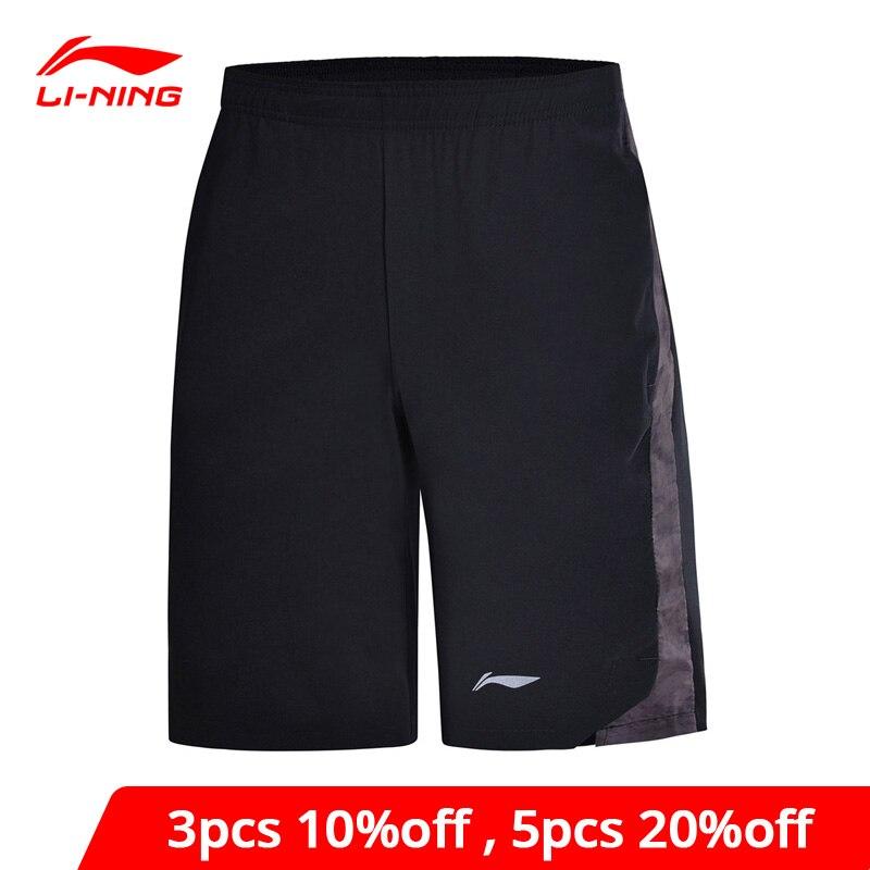 Li-Ning Men Training Series Shorts Breathable Comfort Polyester Spandex Regular Fit li ning LiNing Sports Shorts AKSN115 MKD1536