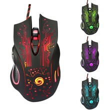 mouse ultra thin gaming mouse wired usb gamer mice for gaming computer pc 3 buttons 1200dpi optical 3d roller usb gaming mouse Hot 6D USB Wired Gaming Mouse 3200DPI 6 Buttons LED Optical Professional Pro Mouse Gamer Computer Mice For PC Laptop Games Mice