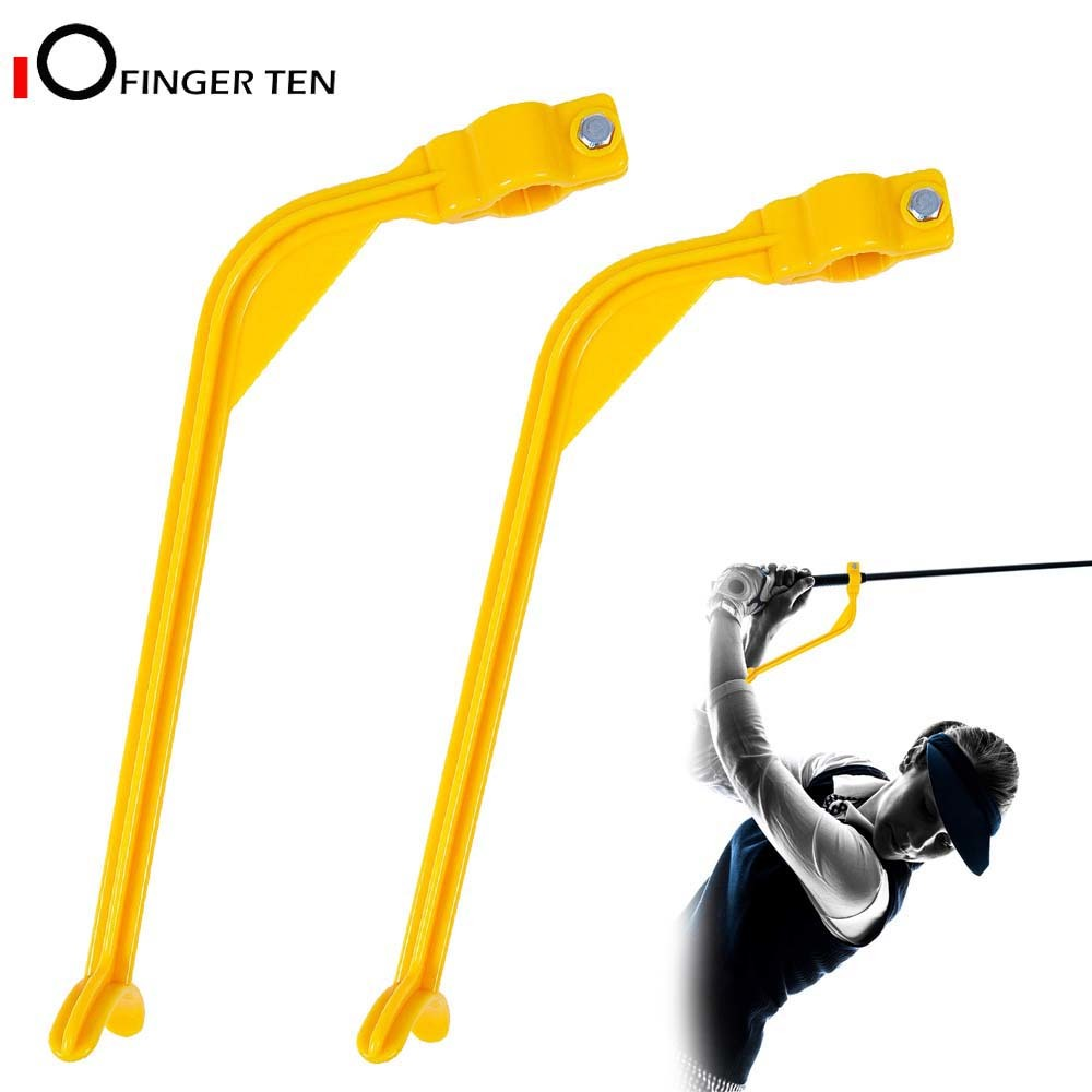 Golf Swing Trainer Training Aid Alignment Practice Guide Yellow For Beginner Golf Clubs Gesture Correct Wrist Aids