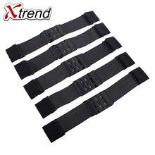 XTREND регулируемая резинка для создания париков парик 1 шт.-5 шт. аксессуары черный цвет