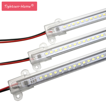LED Bar Light AC220V High Brightness LED Tube 50cm 30cm 20cm SMD 2835 LED Rigid Strip Energy Saving LED Fluorescent Tubes 5PCS