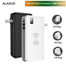 15W kablosuz şarj güç bankası 10000mAh iPhone Xiaomi Huawei Samsung taşınabilir PD QC 3.0 USB hızlı harici pil 3 in 1
