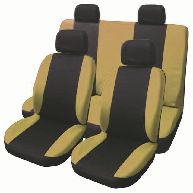 Detail New Style Polyester Car Seat Cover Universal Fit Most Car Cases Car Seat Protector Seat Covers 6 Colours