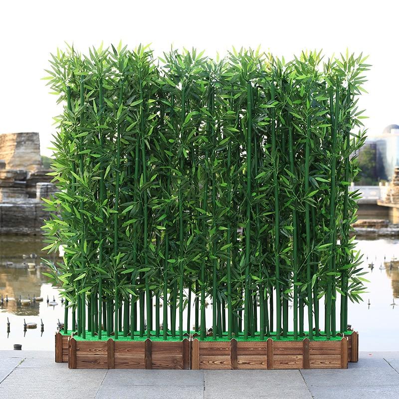 10pcs Artificial Plants 100/150/180cm Fake Bamboo Plant Hotel Landscaping Home Decor Indoor Faux Plants House Plants Bonsai