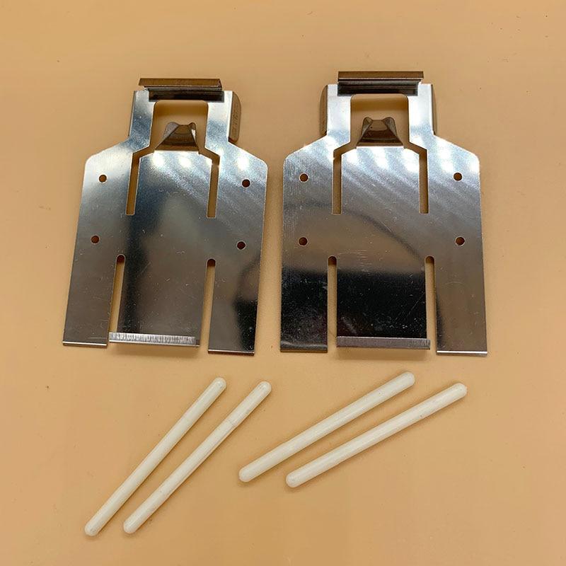2 pièces Roland Médias Pince papier plaque de pression pour Roland SJ-540 FJ-540 SC-540 CJ-540 FJ-740 eco solvant imprimante DX4 tête guide
