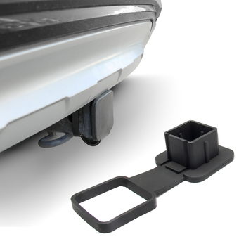 2-Inch Trailer Hook Dust Stopper Square Mouth Protection Drawbar Cover