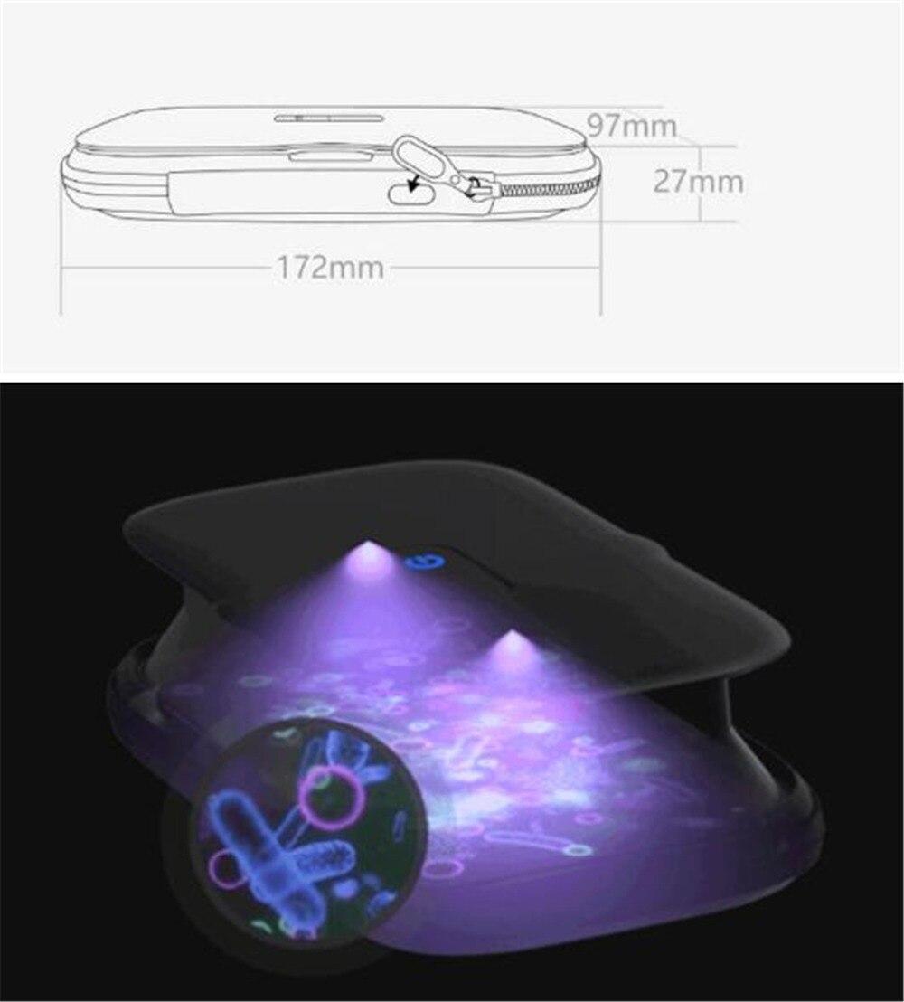 Xiaomi EUE Ultraviolet sterilization package for mobile phonessmall item UV Germicidal Portable Sterilization Bag Disinfection (2)