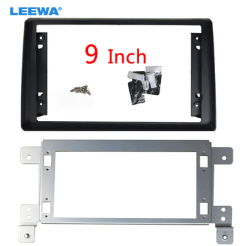 LEEWA Car Audio 9 Big Screen Fascia Frame Adapter For Suzuki Grand Vitara 2Din DVD Player Dash Fitting Panel Frame Kit #CA6600 image