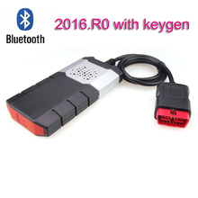 купить 2019 obd scanner for autocome tcs cdp pro for delphi ds150e with bluetooth 2016R0 with Keygen obd2 car and truck Diagnostic Tool дешево