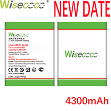 Wisecoco BL210 2PCS 4300mAh For Lenovo A536 A606 S820 S820E A750E A770E A656 A766 A658T S650 Battery Replace+Tracking Number