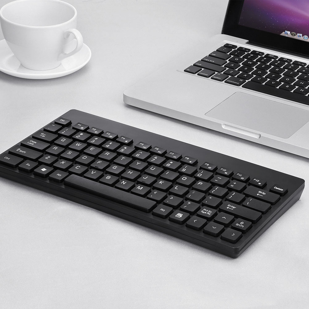 2.4G Wireless Keyboard With Mouse Combo Mini Keyboard 1600DPI Mice Set For Laptop Computer LHB99