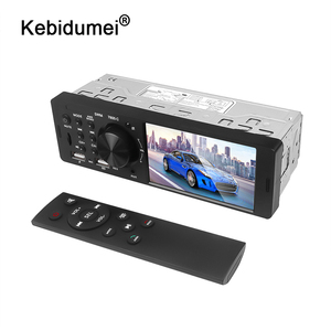Image 1 - Bluetooth 4.0 Multimedia Autoradio FM Aux For Car Radio Rear Camera MP5 Stereo Audio 4.1 Inch HD Touch Screen MP3 Music Player