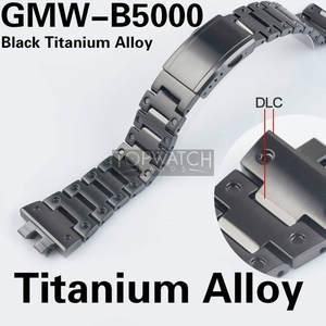 Steel Bracelet Watchbands Titanium-Alloy-Set GMW-B5000 Metal-Strap with Tools Cover Bezel