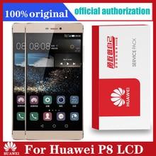 Original 5.2 Display mit Rahmen Ersatz für Huawei P8 LCD Touch Screen Digitizer Montage GRA L09 GRA UL00 GRA L09
