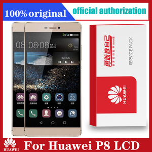 Image 1 - Original 5.2 Display with Frame Replacement for Huawei P8 LCD Touch Screen Digitizer Assembly GRA L09 GRA UL00 GRA L09