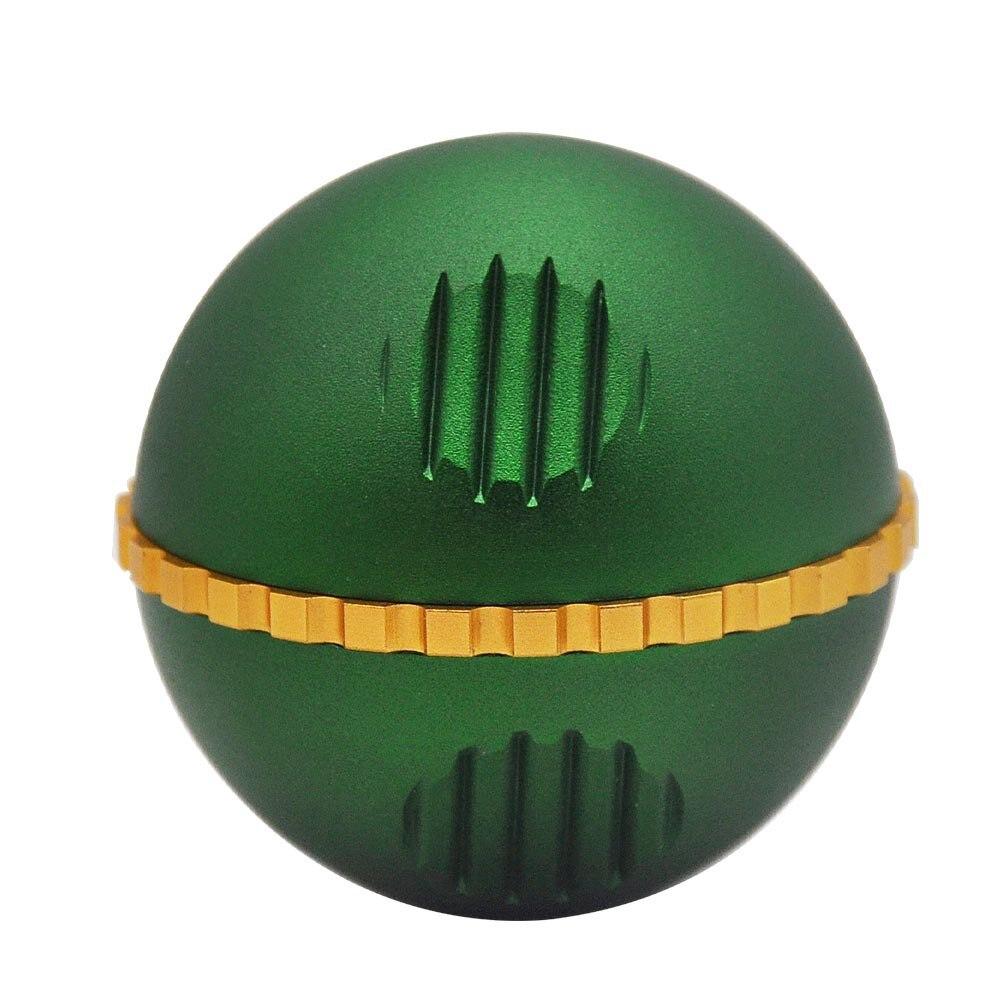 New 3 Piece metal ball type grinding machine 63mm zinc alloy grinder herb grinder With Pollen Scraper 8