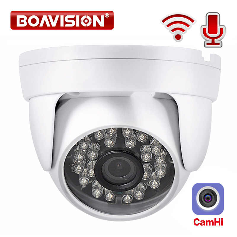 HD 720P 1080P IP WIFI Camera Draadloze Dome Camera Audio IR 20M Nachtzicht 3.6mm Lens 2MP Beveiliging CCTV Camera P2P CamHi
