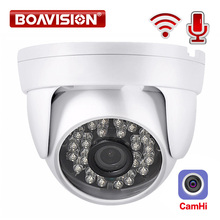 HD 1080P IP WIFI 카메라 무선 돔 카메라 오디오 IR 20M 나이트 비전 3.6mm 렌즈 2MP 보안 CCTV 카메라 P2P CamHi