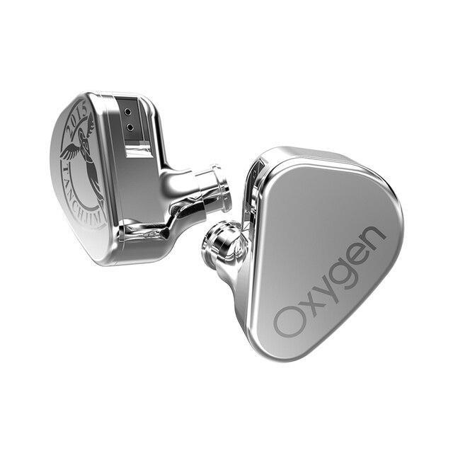 Tanchjim Zuurstof Hifi Monitor Orthodynamic Iem In Ear Oortelefoon 2Pin 3.5Mm Interface Oortelefoon Oordopjes Met Afneembare Kabel