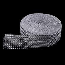 Rouleau de filet ruban en strass 10 Yards | Décoration de fête de mariage
